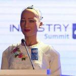 Công dân Robot trả lời phỏng vấn tại Việt Nam